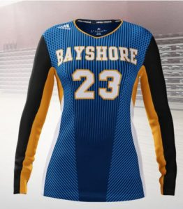 Bayshore Volleyball Uniform