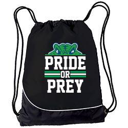Cinch bag with logo